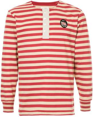 Kent & Curwen striped longlseeved T-shirt