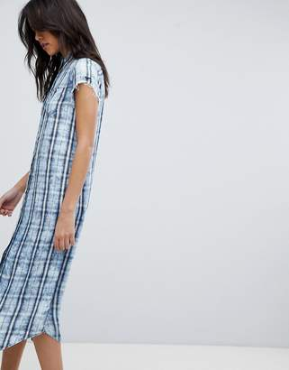 Replay Check Shirt Dress