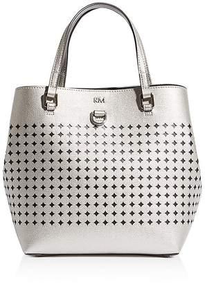 Karen Millen Small Perforated Tote Bag