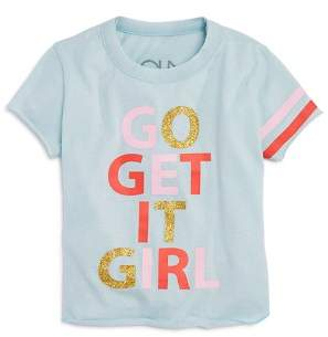 Chaser Girls' Go Get It Girl Tee - Little Kid, Big Kid