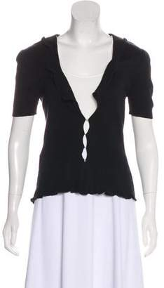 Miu Miu Short Sleeve Top