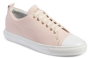 Women's Lanvin Low Top Sneaker $650 thestylecure.com
