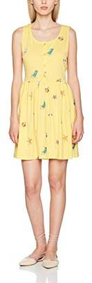 PepaLoves Women's Beach Yellow Casual Dress