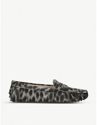 Tod's Tods Mocassino suede loafers
