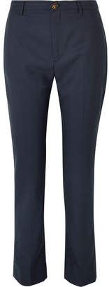 Vivienne Westwood Serge Wool Straight-leg Pants - Navy