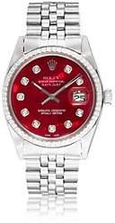 Rolex Vintage Watch Women's 1968 Oyster Perpetual Datejust Watch - Pink