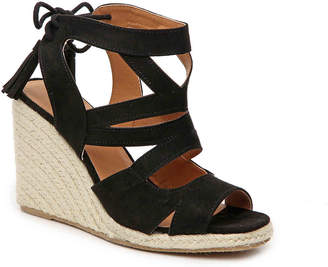 Qupid Jello Espadrille Wedge Sandal - Women's