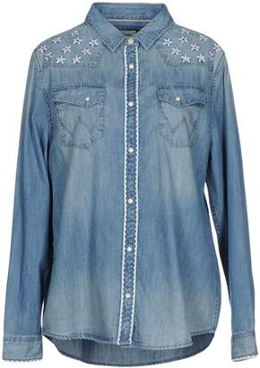 Wrangler Denim shirts - Item 42573110KP