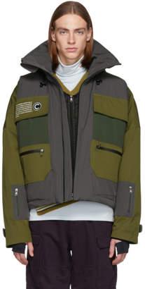 Colmar A.G.E. by Shayne Oliver Khaki Long Villa Shell Jacket