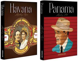 Assouline Legendary Set: Panama Hats & Havana Cigars