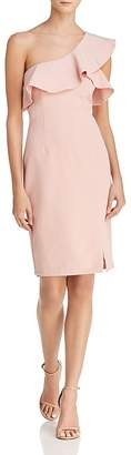 Bardot Ruffled One-Shoulder Dress - 100% Exclusive
