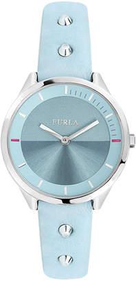 Furla 31mm Metropolis Studded Leather Watch