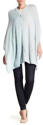 Subtle Luxury Cashmere Two Way Wrap Poncho