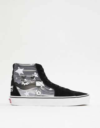 bf038accedb7 Vans x Mickey Mouse SK8-Hi trainers in black VN0A38GEUPO1