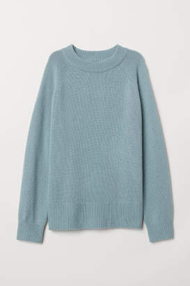 H&M Cashmere Sweater - Turquoise