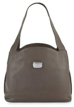 Donna Karan Abbie Leather Hobo Bag