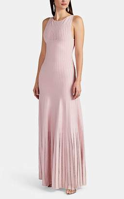 f6d2d8ffac9 Zac Posen Women s Embellished Compact Knit Long Dress - Pink
