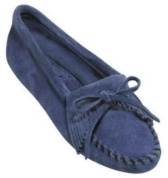 Minnetonka Suede Leather Moccasins - Kilty Softsole