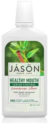 Jason Healthy Mouth Tartar Control Cinnamon Clove Mouthwash - 16 fl oz
