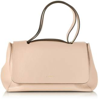 Le Parmentier Ciprea Hammered Leather Satchel Bag