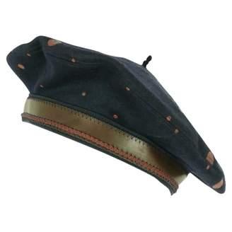 Jean Paul Gaultier Vintage Navy Cashmere Hats