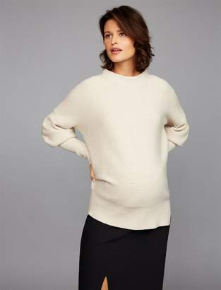 A Pea in the Pod Slouch Cocoon Maternity Sweater
