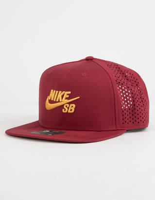 Nike SB Performance Team Red & University Gold Mens Trucker Hat