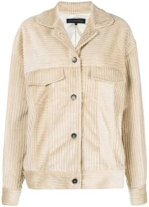 Miaoran corded oversized jacket