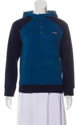 Patagonia Fleece Hooded Pullover Blue Fleece Hooded Pullover
