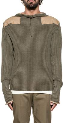 Maison Margiela Army Green Wool Sweater