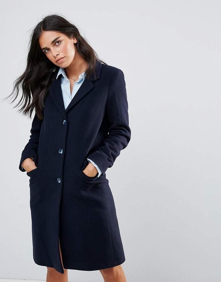 – College-Mantel aus Wollmischung
