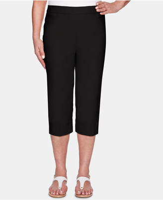 Alfred Dunner Classic Allure Super Stretch Pull-On Clam Digger
