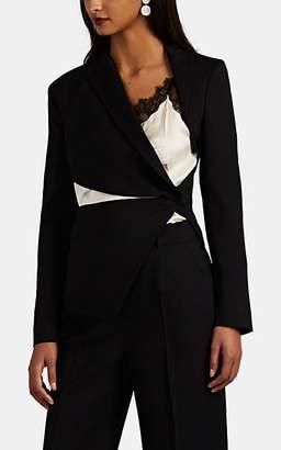 Altuzarra Women's Priverno Cutout Wool Asymmetric Blazer - Black