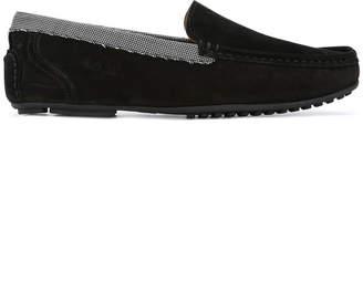 Paul & Joe contrast lined loafers