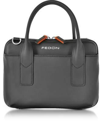 Giorgio Fedon Bubble Double Handles Mini Bag w/Shoulder Strap
