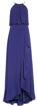 Eliza J Chiffon Ruffle Gown