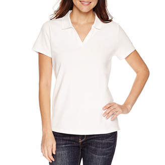 ST. JOHN'S BAY Polo Shirt - Petite