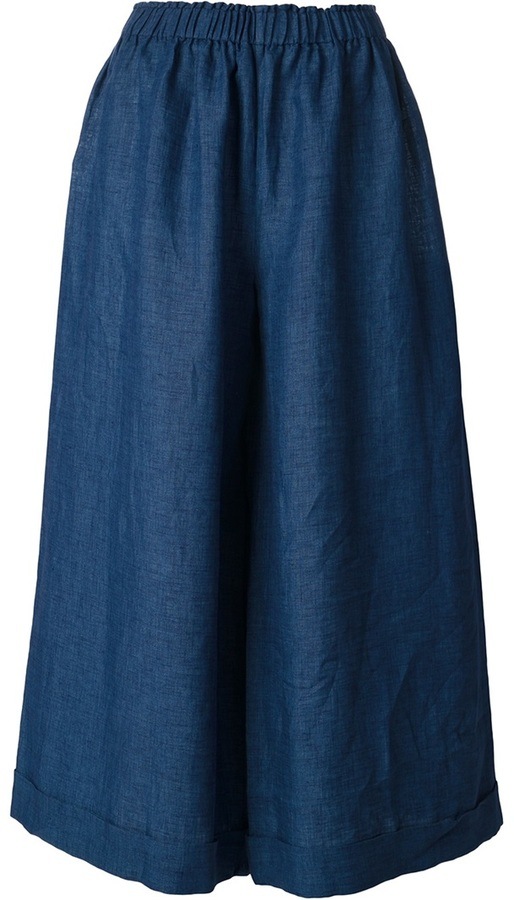Daniela Gregis pleated midi skirt