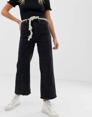 Free People Wales cropped wide leg jeans