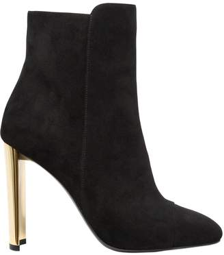 Giuseppe Zanotti Design 105mm Suede Ankle Boots