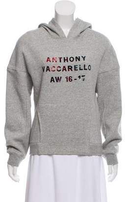 Anthony Vaccarello 2016 Hooded Sweatshirt