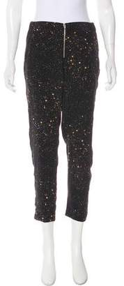 Myne Mid-Rise Printed Pants