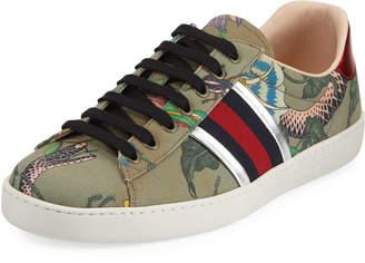 66fa3498512e5 Gucci Sneaker Snake - ShopStyle