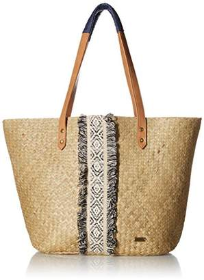 Roxy Pretty Love Staw Beach Tote