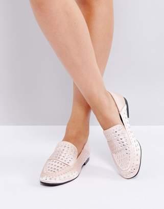 Qupid Flat Stud Shoe