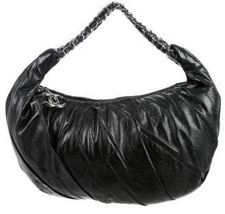 Chanel Twisted Leather Hobo