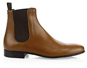 Gianvito Rossi Men's Leather Chelsea Boots