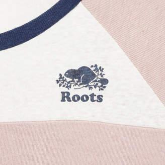 Roots Womens Colour Blocked Baseball T-shirt