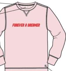 Rebel Canyon Unisex Adult Forever a Dreamer Unisex Sweatshirt