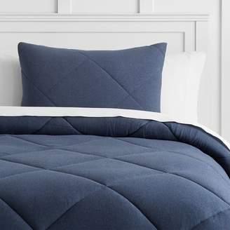 Pottery Barn Teen Favorite Tee Comforter, Twin/Twin XL, Heathered Navy